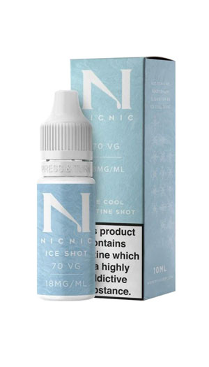 NicNic Ice Nicotine Shot BHVape Bournemouth Christchurch New Milton