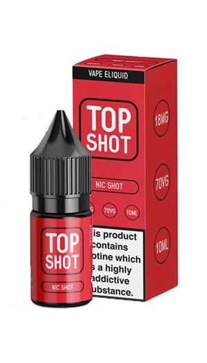 Top Shot Nicotine BHVape Bournemouth Christchurch New Milton