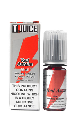 t juice red astaire 10ml BHVape Bournemouth Christchurch New Milton